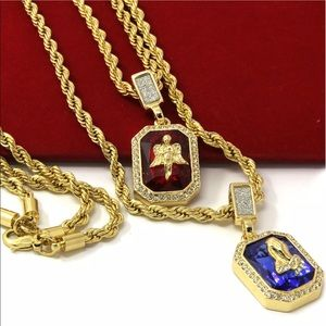 Men gold plated chain set